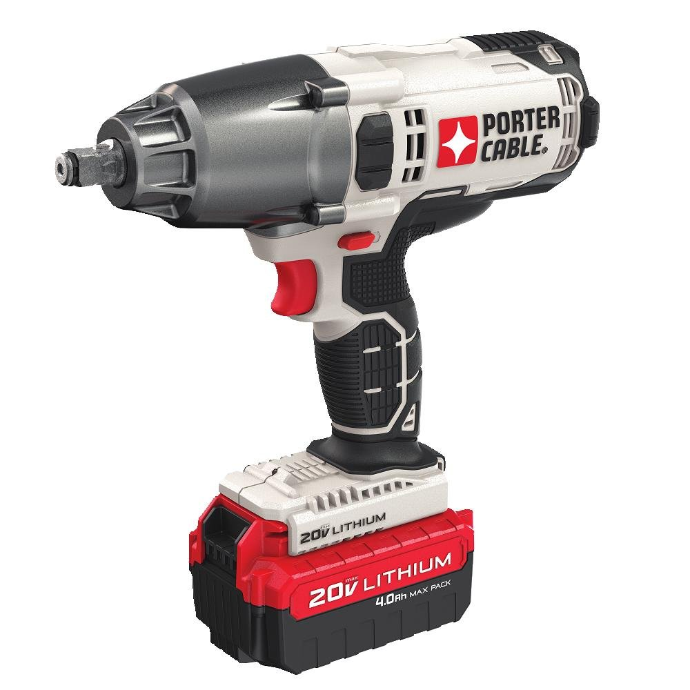 PORTER-CABLE PCC740LA Best Cordless Impact Wrench for Changing Tires