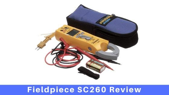 Fieldpiece SC260 Review
