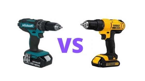 Dewalt vs makita drill