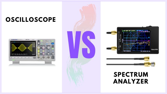 Oscilloscope vs Spectrum Analyzer
