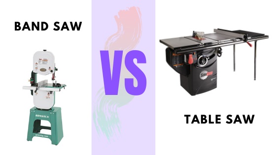 Table Saw vs. Band Saw